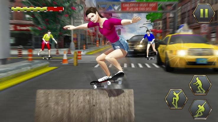 True Skate gameplay