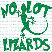 No Lot Lizards Semi 18 Wheeler Vinyl Decal By Lilbitolove On Zibbet