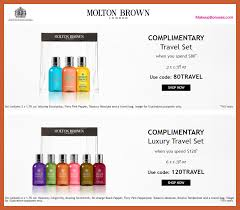 molton brown free bonus gifts with