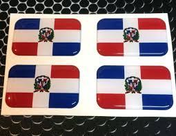 Car Truck Graphics Decals Auto Parts And Vehicles Dominican Republic Flag Vinyl Decal Sticker Car Bumper Calcomania Dominicana Megeriancarpet Am