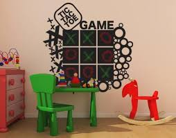 Game Wall Decal Board Style And Apply
