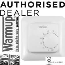 warmup mstat manual thermostat for