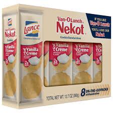 lance nekot van o lunch vanilla creme
