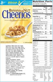 honey nut cheerios label labels ideas