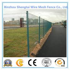 China Green Pvc Coated Steel Mesh Fencing Wire Garden Galvanised Fence Border China Wire Mesh Fencing Welded Wire Mesh Fence