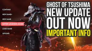 Ghost Of Tsushima Update 1.12 OUT NOW ...