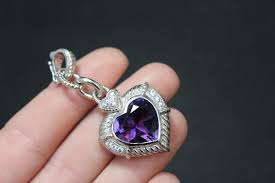 authentic judith ripka genuine amethyst