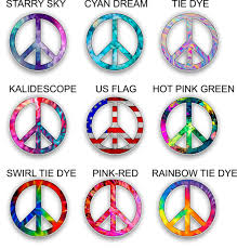 Car Truck Graphics Decals Auto Parts And Vehicles Peace Sign Car Decal Sticker Hot Pink Megeriancarpet Am