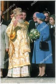 Queen Elizabeth II II Visit Russia 18 Editorial Stock Photo ...