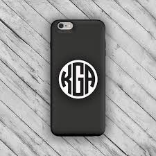 Excited To Share This Item From My Etsy Shop Phone Monogram Initial Stickers Monogrammed Phone Case Stick In 2020 Phone Case Monogram Iphone Stickers Monogram Decal