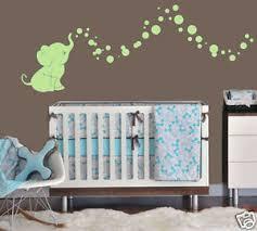 Elephant Bubbles Graphic Wall Decal Vinyl Kids Nursery Room Choose Color Ebay