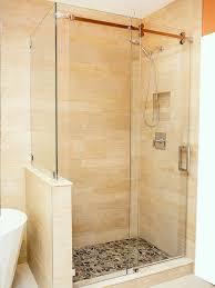 sliding glass shower door