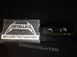 til leather 1982 demo cassette tape