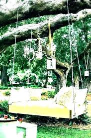 outdoor swing bed hillyhaven