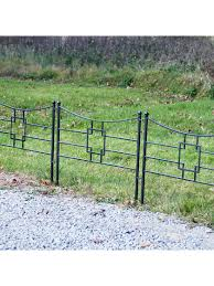 Achla Designs Square On Squares Fence Section Gardener S Supply
