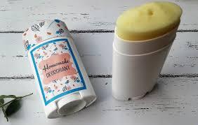 homemade deodorant with free printable