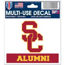 University Of Southern California Car Decals Decal Sets Usc Trojans Car Decal Shop Usctrojans Com