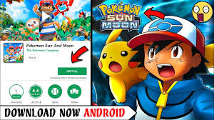 400MB] Pokémon Ultra Sun and Moon Apk Download On Android ...