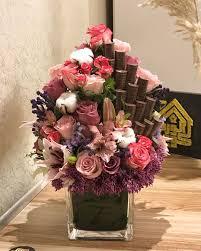تنسيقات زهور طبيعية قواعد لعمل بوكيه ورد ياخد العقل كلام نسوان