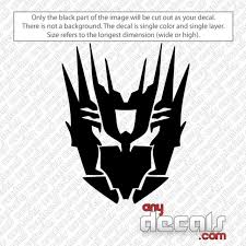 Car Decals Car Stickers Cybertronian Transformer Car Decal Anydecals Com