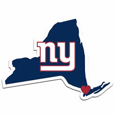 Nfl New York Ny Giants Home State Auto Car And Similar Items