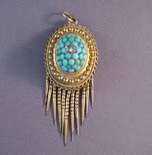 victorian persian turquoise morning