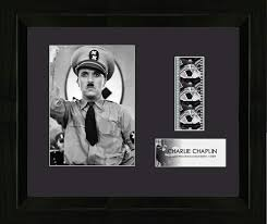 Amazon.com: Trend Setters Charlie Chaplin The Great Dictator Vintage 35mm  Film Cell Movie Display: Home & Kitchen