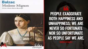 people exaggerate both happiness and unhappiness we are never so