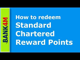 redeem standard chartered reward points