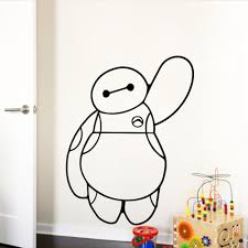 Baymax Of Movie Big Hero 6 Wall Stickers For Kids Rooms Baby Kids Toys Home Decals For Children Christmas Gfit Sticker For Kids Room Stickers Forstickers For Kids Aliexpress