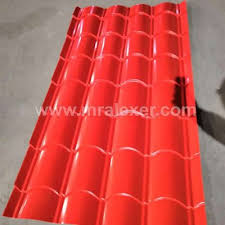 corrugated galvanized steel roofing sheet