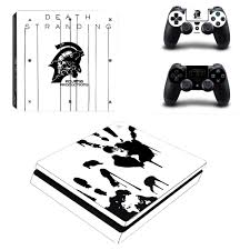 Kojima Game Death Stranding Ps4 Slim Skin Sticker Decal Vinyl For Playstation 4 Console And Controllers Ps4 Slim Skin Sticker Aliexpress