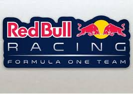 Red Bull Formula One F1 Racing Team Logo Blue Background Stickers Large Sticker Our Stickers Are Printed On High Quality In 2020 Red Bull Formula One F1 Racing
