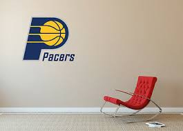 Indiana Pacers Nba Logo Vinyl Decal Sticker Wall Decal Sa148 Children S Bedroom Sports Decor Decals Stickers Vinyl Art