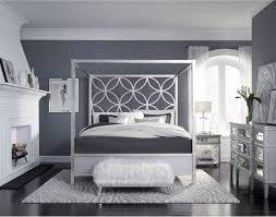 velvet quatrefoil canopy bedroom set