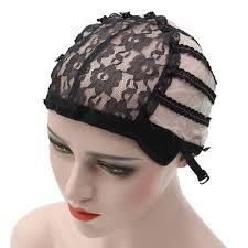 Wig Cap Making Wigs Straps Breathable Mesh Weaving Adjustable Cap 3 Styles  Black: Buy Sell Online @ Best Prices in SriLanka | Daraz.lk