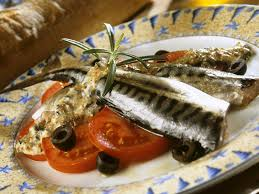 Marinated Mackerel with Mustard Sauce ...