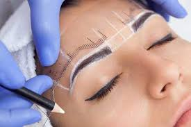 pre post care treatment the brow effect