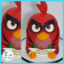 Red Angry Birds Cake – Blue Sheep Bake Shop