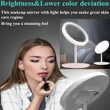 led makeup mirror lights rechargeable