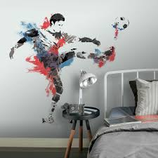 Roommates Men S Soccer Champion Peel And Stick Giant Wall Decals Brickseek