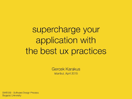 Supercharge your application with the best UX practices