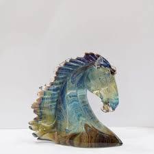 horse s head murano glass made in