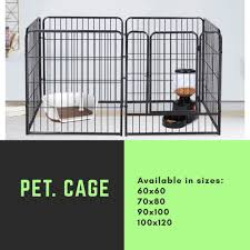 Pet Fence Dog Fence Pet Supplies For Dogs Dog Accessories On Carousell