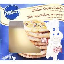 pillsbury candle sugar cookie 3oz