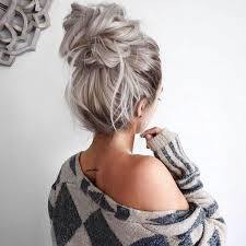 27 Cute And Easy Messy Bun Hairstyle Ideas For Summer Kolory