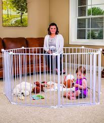Baby Pet Dog Wide Metal Safety Gate Indoor Outdoor Child Playpen Fence Barrier Regalo Best Baby Gates Baby Play Yard Adjustable Baby Gate