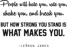 Lebron James Basketball Wall Decal Inspirational Sports Vinyl Sticker Bedroom Decor 20 X16 Walmart Com Walmart Com