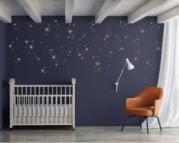 Sparkly Starburst Vinyl Wall Decals Mid Century Modern 1950s Etsy