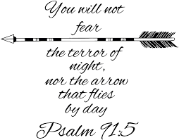 Wall Decals Quotes Psalm 91 5 Quote Bible Verse Arrows Sign Words Family Decor Wall Vinyl Decal Stickers Bedroom Murals Amazon Com